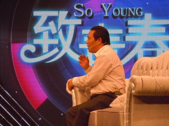 西山教育集团董事长张文彬在北京参加《致青春》节目录制 福建西山学校总校长张文彬