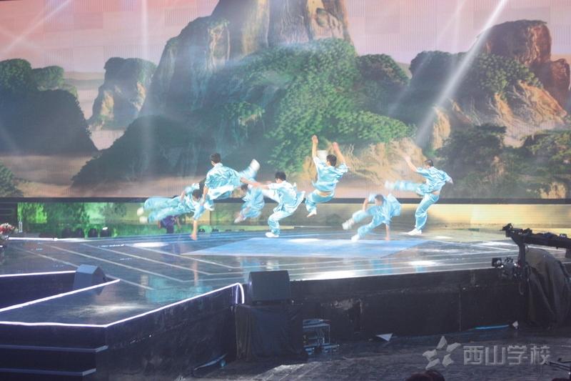 """【视频】西山学校武术再登央视舞台 张纪中导演携众""""好汉""""点赞"""