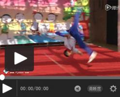 【体艺教程】幼儿园武术表演学生示范