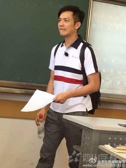 """【視頻】鐘漢良穿校服錄《我去上學啦》 網友找出十年前""""在校上學照"""""""