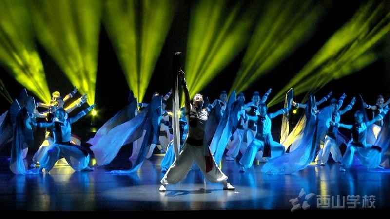 【视频】 福建省第五届中小学生艺术节:《炫境》  西山学子尽显男儿本色