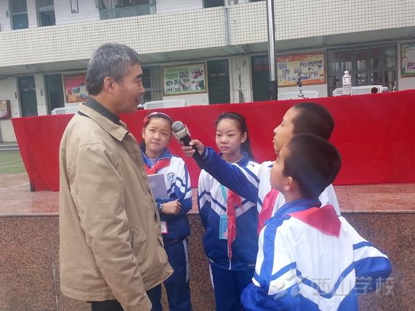 著名儿童作家周锐专访——红领巾小记者在行动