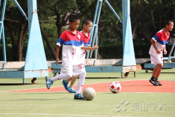 赖银生老师执教足球观摩课《脚内侧接传球》