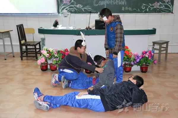 福建西山学校小学部举行英语讲故事比赛