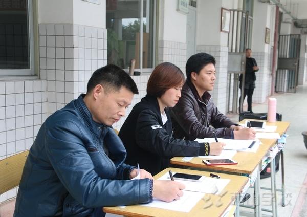 福建西山学校高中部举行班级专业技能考核