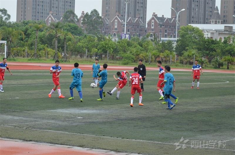 【足球联赛】联赛四连杀 西山学校初中部足球队挺进冠军杯