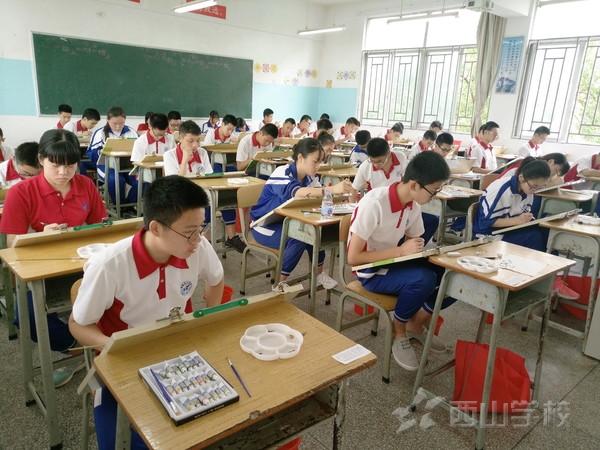 开启梦想之门——福建西山学校中招特长生专业测试开考