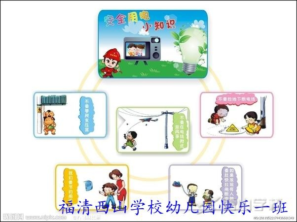 暑期安全早知道--福清西山学校幼儿园快乐一班