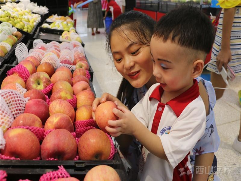 【爆料】复赛的宝贝们体验超市购物啦!!——江西省西山学校幼儿园