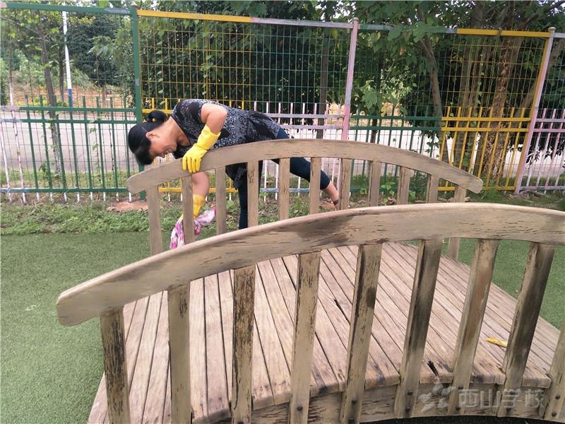 【今日新闻】全面消毒—只为迎接你们的到来——江西省西山幼儿园