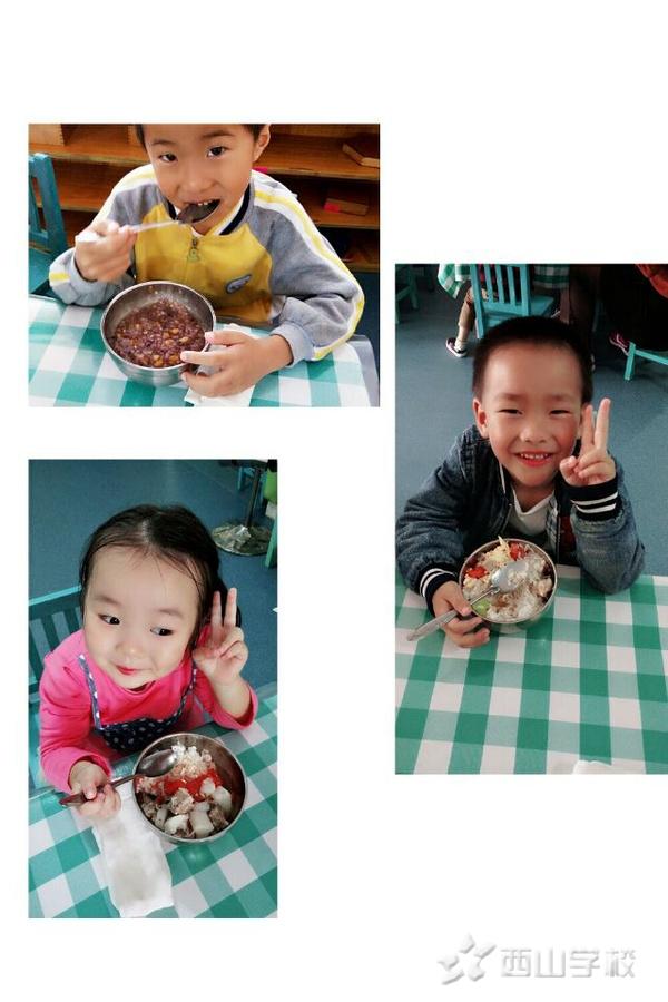 寒假遇上春节 给幼儿怎样的饮食环境—福清西山学校幼儿园康康二班