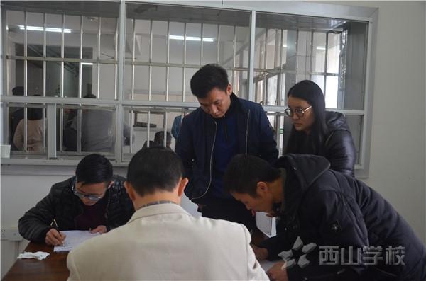 高考体检进行时——江西省西山学校高中部组织2018届毕业生参加高考体检