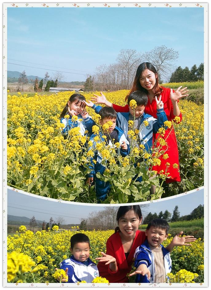 """""""回归自然  拥抱春天""""——江西省西山学校幼儿园半日春游活动"""