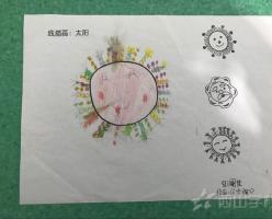 福清西山学校幼儿园康康一班2018年4月幼儿作品展