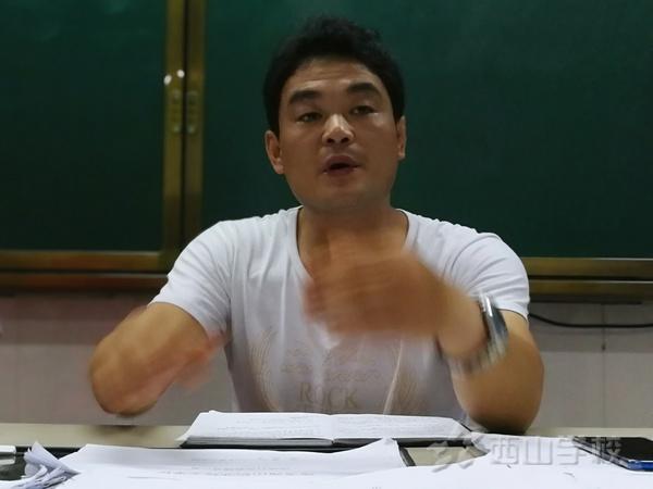福清西山职业技术学校组织召开班团学干会——班干部团队建设