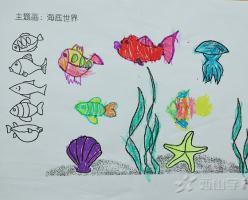 福清西山学校幼儿园康康一班2018年5月份幼儿作品展