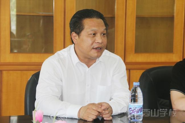 福清市教育局领导莅临福建西山学校开展年检工作