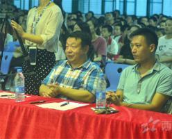红歌唱响中国梦——西山学校初中部举行第四届红歌合唱比赛