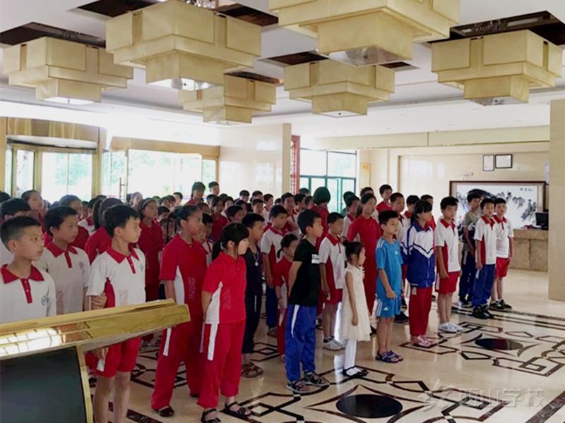 在鼓励中成长--明發国际线路检测小学部开展鼓励餐活动