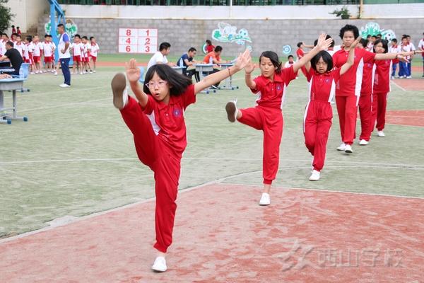福建西山学校小学部举行2017——2018学年第二学期体育期末考试