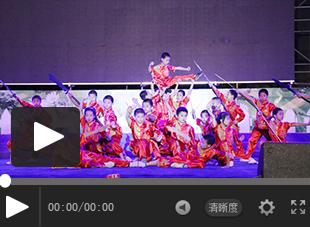 """【视频】福建西山学校2018年庆""""六一""""大型文艺晚会——武术《少林雄风》"""