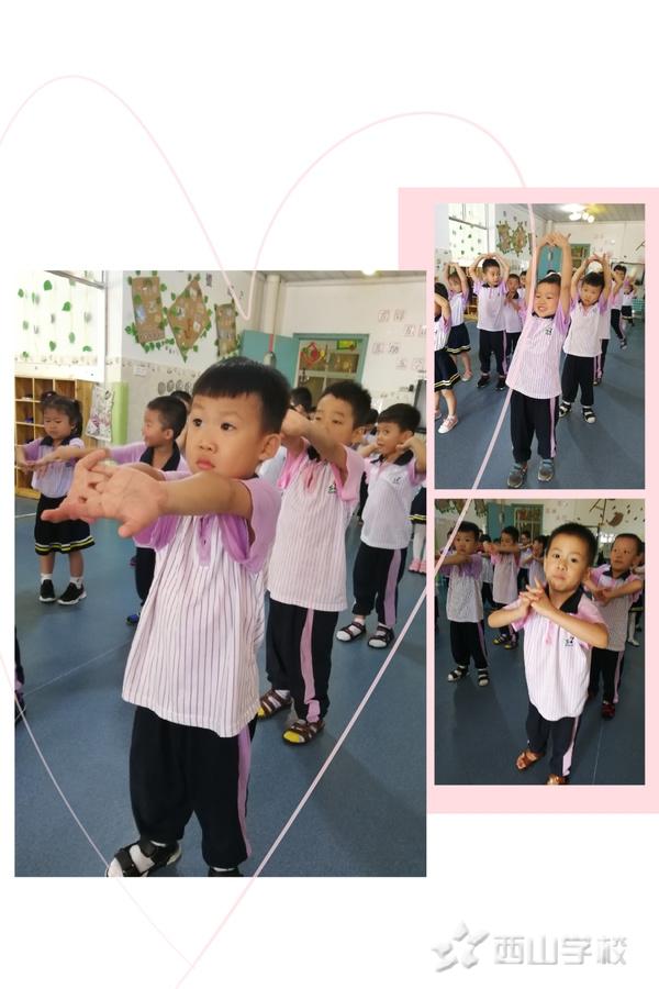 武术小达人——福清西山学校幼儿园快乐二班