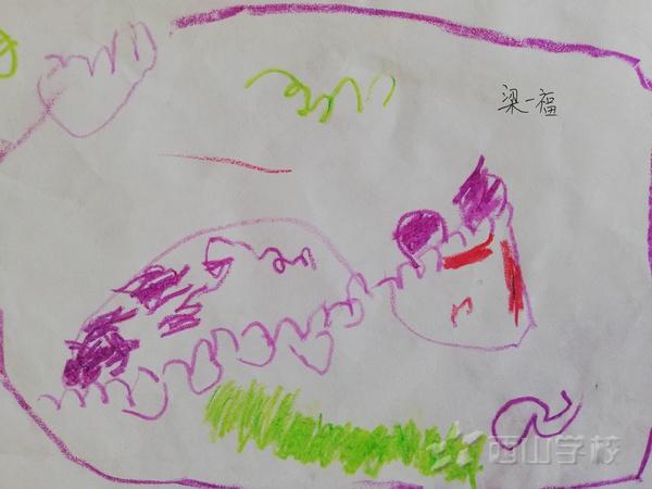 福清西山学校幼儿园2018年9月幼儿作品展