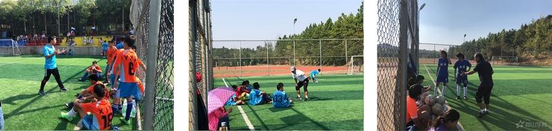 赛出友谊,赛出水平——江西省西山学校初中部和南昌市洪都中学开展校际足球友谊赛