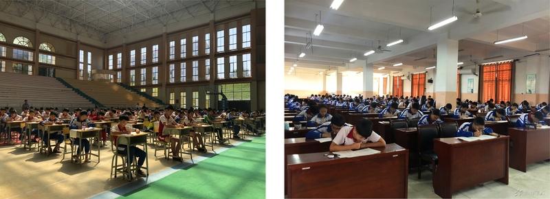 充分准备,自信应考——江西省西山学校初中部举行月考
