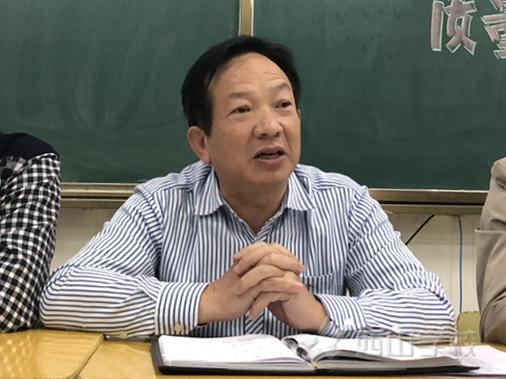 江西省西山学校高中部召开高三联考质量分析会