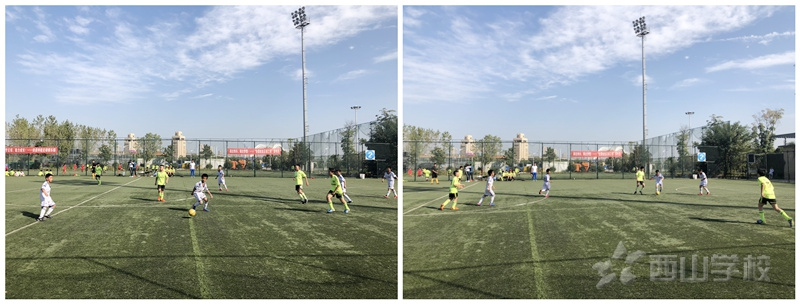 南昌市校园足球联赛上赛季实况报道四|西山学校2:0击败南京路小学
