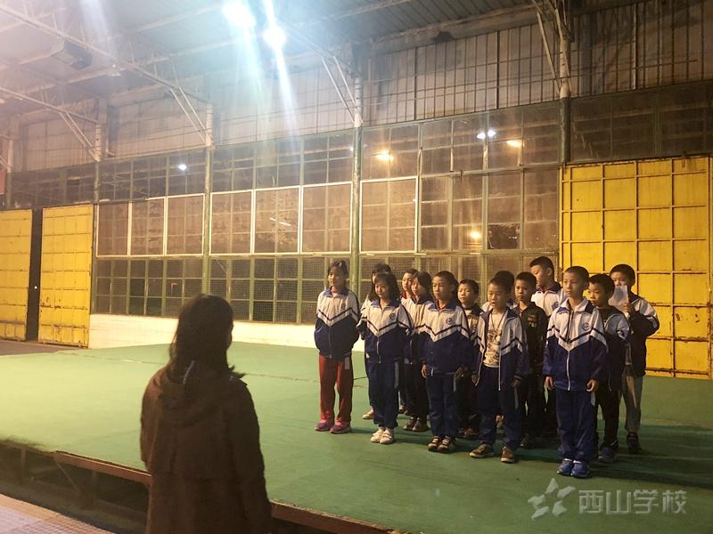 精彩亮相--江西省西山学校小学部文艺晚会节目初审