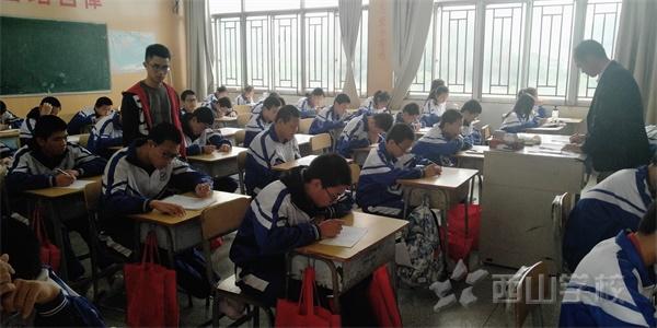 夯实基础,提升英语学科得分率——西山学校初中部初三年段举行第二轮英语单词检测