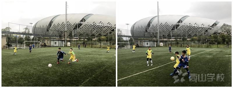 南昌市足球联赛上赛季实况报道九|西山学校喜获连胜
