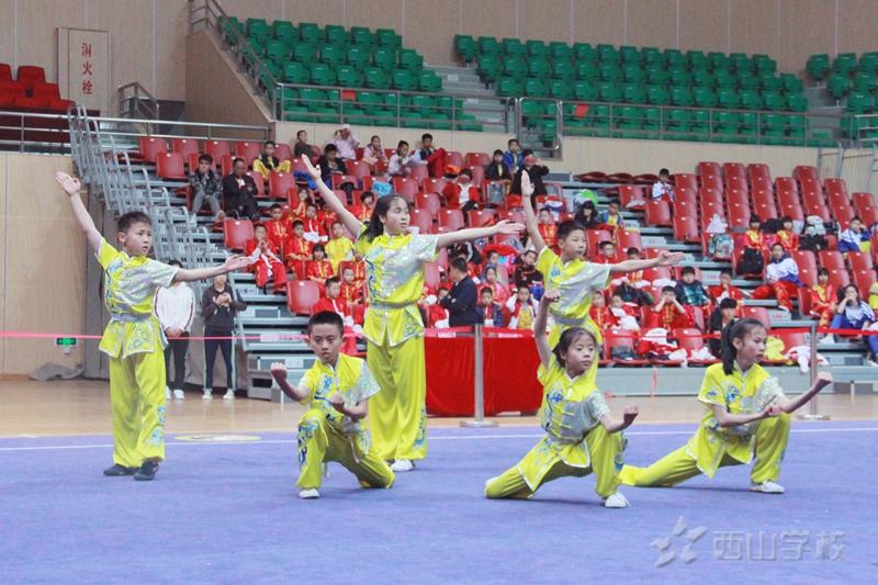 喜报!西山学校勇夺2019年福州市少儿武术套路锦标赛第一名