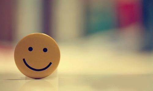 送自己一个微笑