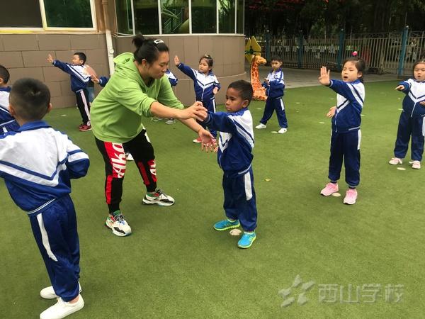学武术 敬武德——福清西山学校幼儿园武术活动
