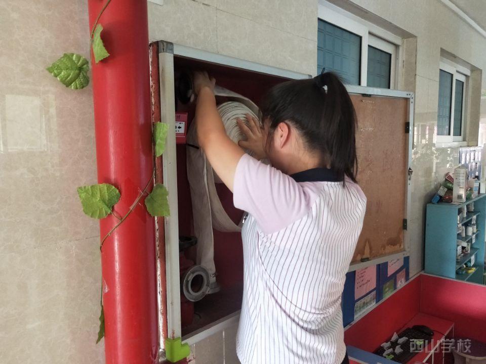 迎卫生检查,筑安全防线——福清西山学校幼儿园