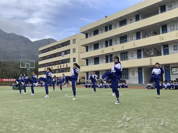 福清西山职业技术学2019-2020学年度第一学期校期末武术考试:收获的不只是成绩,更多的是成长