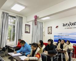 各展風采促成長——記福清西山職業技術學校期末文化教師業務考核