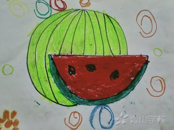 福清西山学校幼儿园蒙芽一班2020年7月幼儿作品展