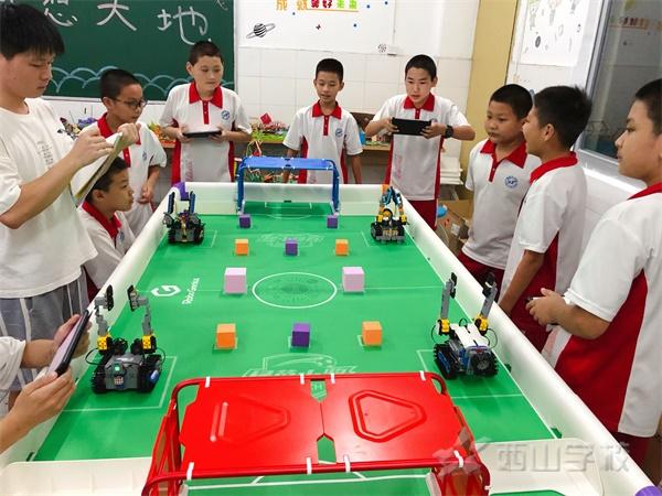 培养科学素养 提高创新精神——福建西山学校小学部机器人社团开课啦!