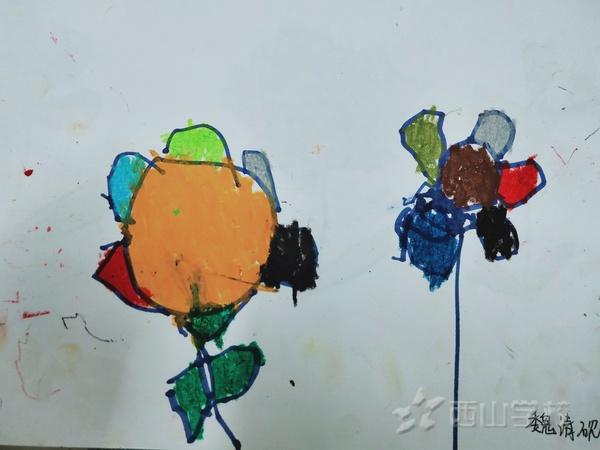 福清西山学校幼儿园蒙芽三班2020年9月幼儿作品展