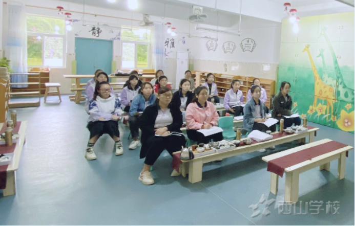 经验之谈 为爱导航 --福清西山学校幼儿园班主任工作经验交流演讲活动