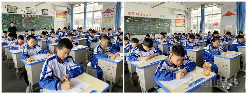 江西省西山学校小学部举行新学期第一次月考