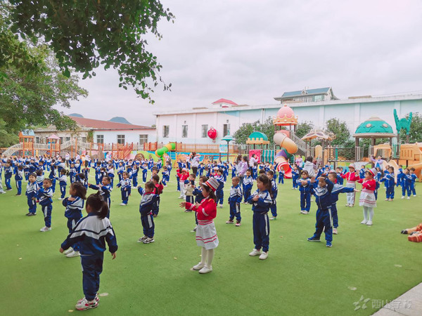 感恩于心,知恩于行——福清西山学校幼儿园第十三周升旗仪式