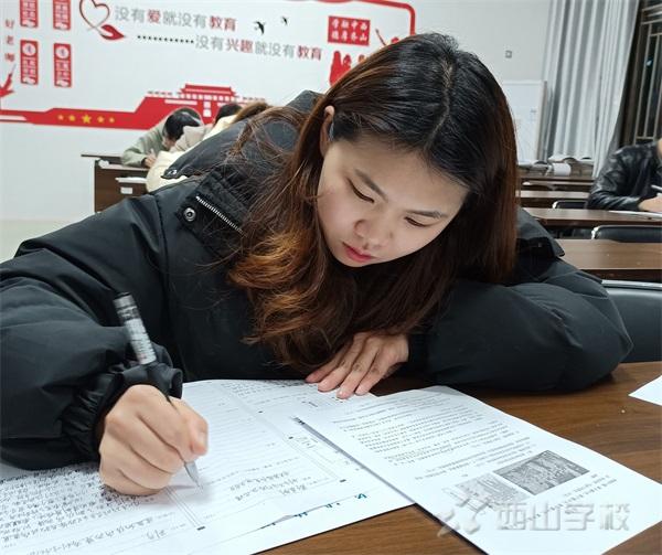 剑指中考磨专业,教学相长促提升——西山学校初中部举行教师业务考核