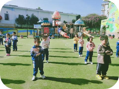 健康动起来——福清西山学校幼儿园体艺技能活动